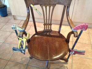 Repair to chair