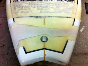 Tail repair Simon Anderson SUP