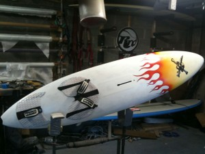 Another flame spray job
