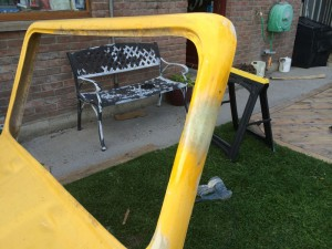 glassing beach buggy windscreen frame