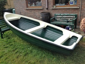 Lake boat restoration complete
