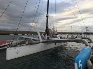 Trilogic, racing trimaran custom work